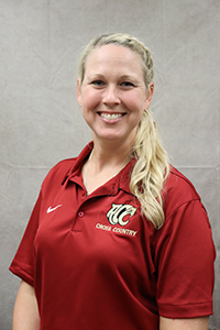Cross Country Head Coach Natalie Cox