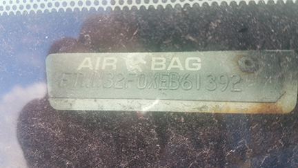 1999 Ford Dually Pickup Air Bags