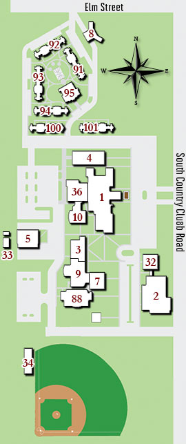 Campus Map & Directions | Redlands Community College