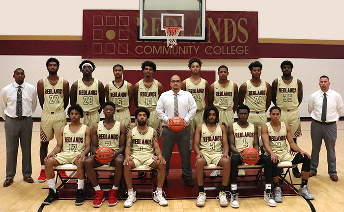 Redlands Men's Basketball Team 2019-2020