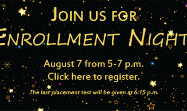 Join Us for Enrollment Night