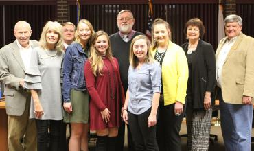 Redlands ag students recognized at Board of Regents meeting.