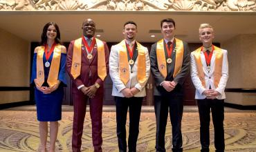 International Phi Theta Kappa Officers